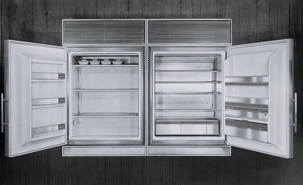 Sub-Zero BI-36U Stainless Steel Built In Over and Under Refrigerator Freezer