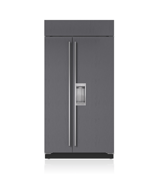 "Sub-Zero 42"" Classic Side-by-Side Refrigerator/Freezer with Dispenser - Panel Ready BI-42SD/O"