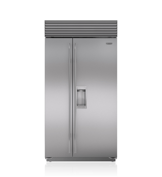 "Sub-Zero 42"" Classic Side-by-Side Refrigerator/Freezer with Dispenser BI-42SD/S"