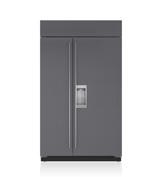 "Sub-Zero 48"" Classic Side-by-Side Refrigerator/Freezer with Dispenser - Panel Ready BI-48SD/O"