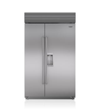"Sub-Zero 48"" Classic Side-by-Side Refrigerator/Freezer with Dispenser  BI-48SD/S"
