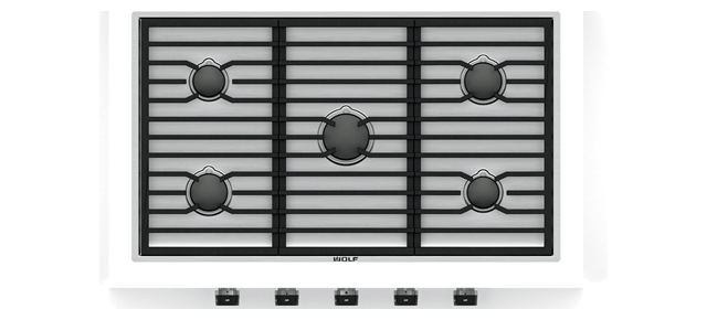 Wolf 36 Quot Contemporary Gas Cooktop 5 Burners Cg365c S