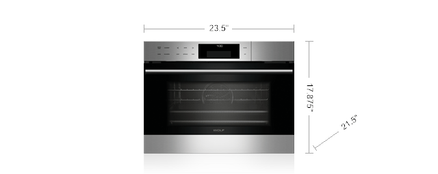 Wolf 24 Quot E Series Transitional Convection Steam Oven