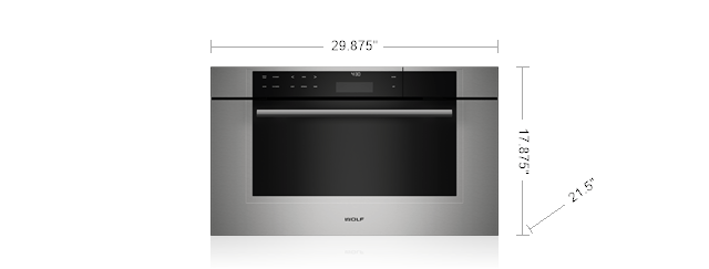 30 M Series Transitional Convection Steam Oven Cso30tm S Th Wolf Liances