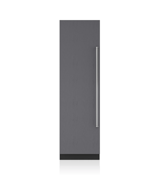 "Sub-Zero 24"" Designer Column Refrigerator/Freezer with Ice Maker – Panel Ready IC-24CI"