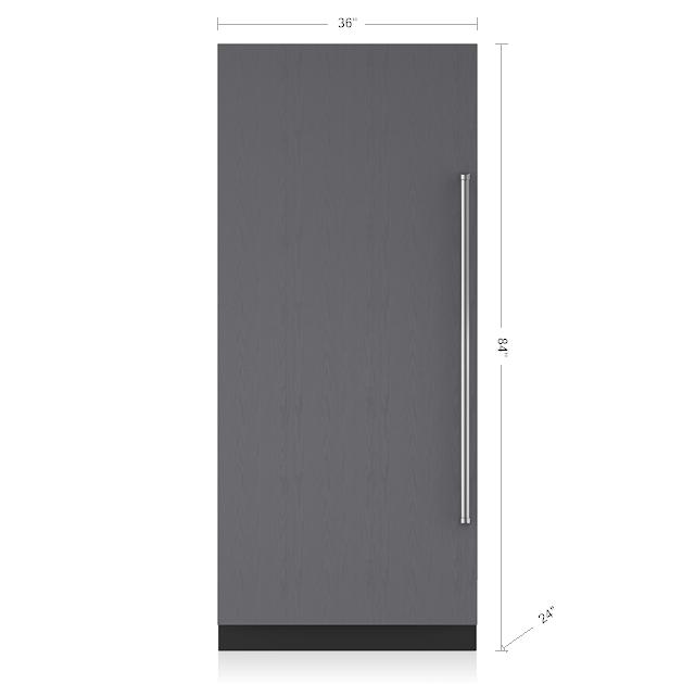 36 Integrated Column Refrigerator Panel Ready Ic 36r Sub Zero Liances
