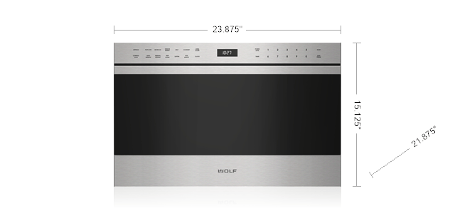 24 Transitional Drawer Microwave Sm Md24te Bstyle 32318