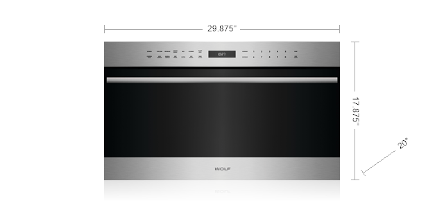 30 E Series Transitional Drop Down Door Microwave Oven Sm Mdd30 Open Tcs 050718