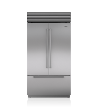 "Sub-Zero 42"" Classic French Door Refrigerator/Freezer with Internal Dispenser BI-42UFDID/S"
