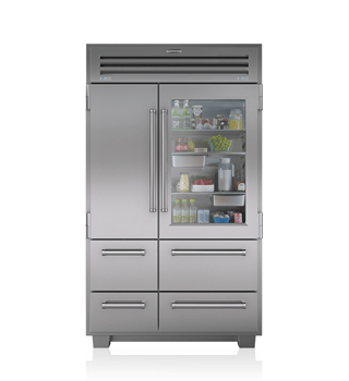Sub-Zero PRO 48 with Glass Door - Legacy Model 648PROG