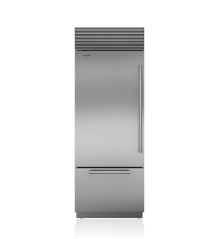 "Sub-Zero 30"" Classic Over-and-Under Refrigerator/Freezer  BI-30U/S"