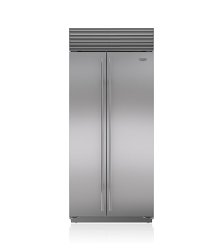 "Sub-Zero 36"" Built-In Side-by-Side Refrigerator/Freezer BI-36S/S"