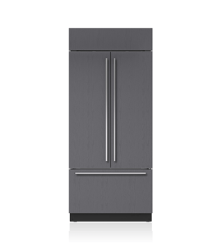 "Sub-Zero 36"" Classic French Door Refrigerator/Freezer - Panel Ready BI-36UFD/O"