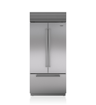 "Sub-Zero 36"" Classic French Door Refrigerator/Freezer with Internal Dispenser BI-36UFDID/S"