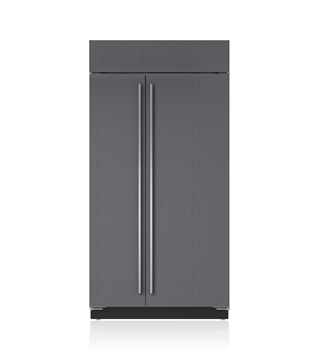 "Sub-Zero 42"" Classic Side-by-Side Refrigerator/Freezer with Internal Dispenser - Panel Ready BI-42SID/O"