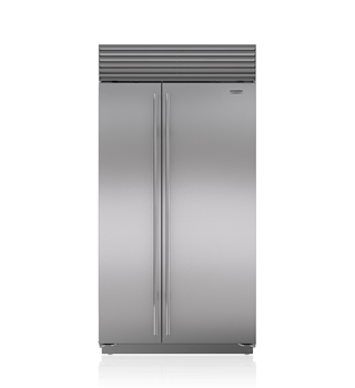 "Sub-Zero 42"" Classic Side-by-Side Refrigerator/Freezer with Internal Dispenser BI-42SID/S"