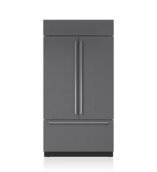 "Sub-Zero 42"" Built-In French Door Refrigerator/Freezer - Panel Ready BI-42UFD/O"