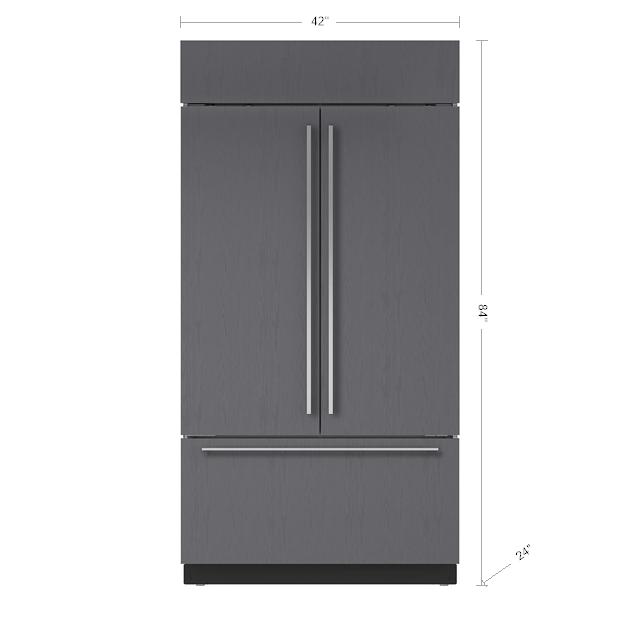 Sub Zero 42 Quot Classic French Door Refrigerator Freezer