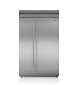 "Sub-Zero 48"" Built-In Side-by-Side Refrigerator/Freezer BI-48S/S"