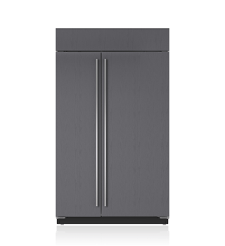 "Sub-Zero 48"" Built-In Side-by-Side Refrigerator/Freezer with Internal Dispenser - Panel Ready BI-48SID/O"