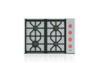 30 Professional Gas Cooktop 4 Burners