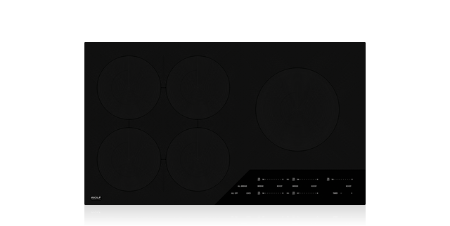 36 Contemporary Induction Cooktop