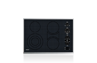 "Wolf 30"" Electric Cooktop - Framed CT30E/S"