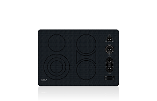 "Wolf 30"" Electric Cooktop - Unframed CT30EU"