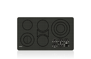 "Wolf 36"" Electric Cooktop - Unframed CT36EU"