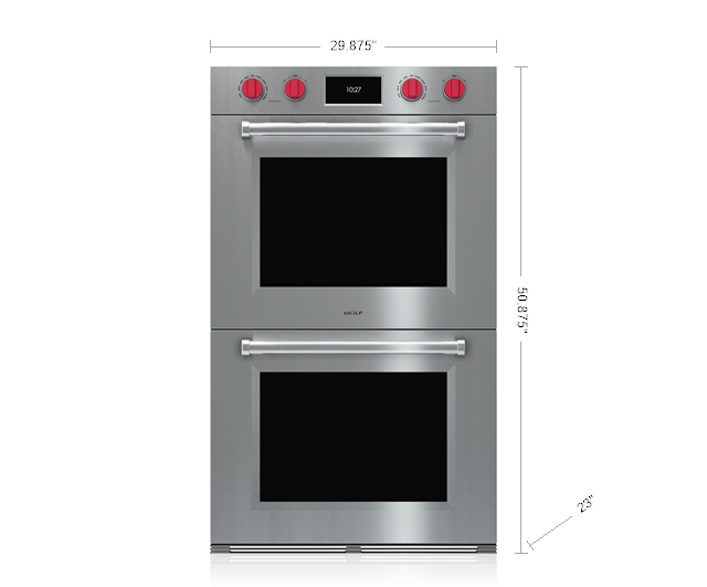 Wolf 30 M Series Professional Built In Double Oven Do30pm S Ph