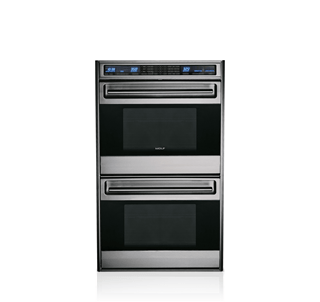 "Wolf 30"" Built-In L Series Double Oven - Unframed Door DO30U/S"