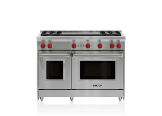 Try This Model With A Dual Infrared Griddle 48 Gas Range 4 Burners