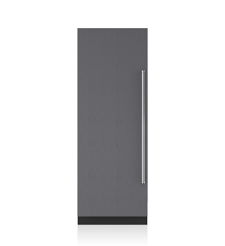 "Sub-Zero 30"" Designer Column Freezer with Ice Maker - Panel Ready IC-30FI"