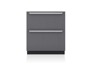 "Sub-Zero 30"" Designer Refrigerator Drawers with Air Purification - Panel Ready ID-30RP"