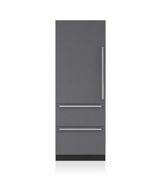 30 Integrated Over And Under Refrigerator Freezer Panel Ready It 30ci Sub Zero Liances