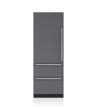 "Sub-Zero 30"" Integrated Over-and-Under Refrigerator with Internal Dispenser - Panel Ready IT-30RID"