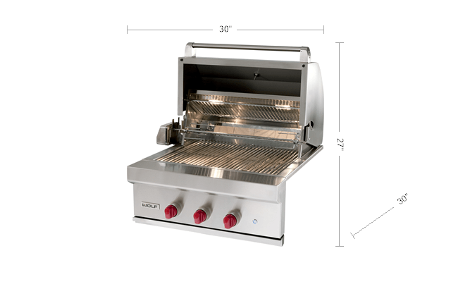 Wolf 30 Quot Outdoor Gas Grill Og30