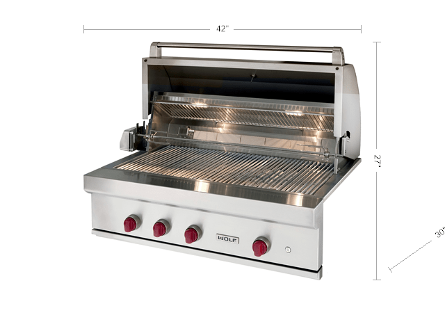 Wolf 42 Outdoor Gas Grill Og42