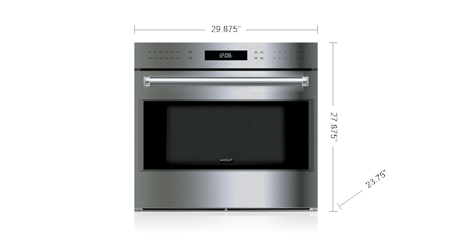 30 E Series Professional Built In Single Oven So30pe S Ph Wolf Liances