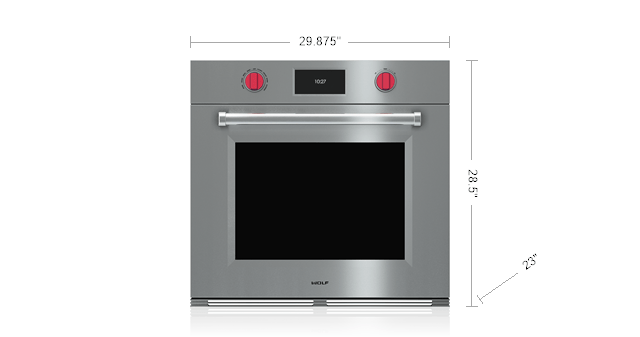 30 M Series Professional Built In Single Oven So30pm S Ph Wolf Liances