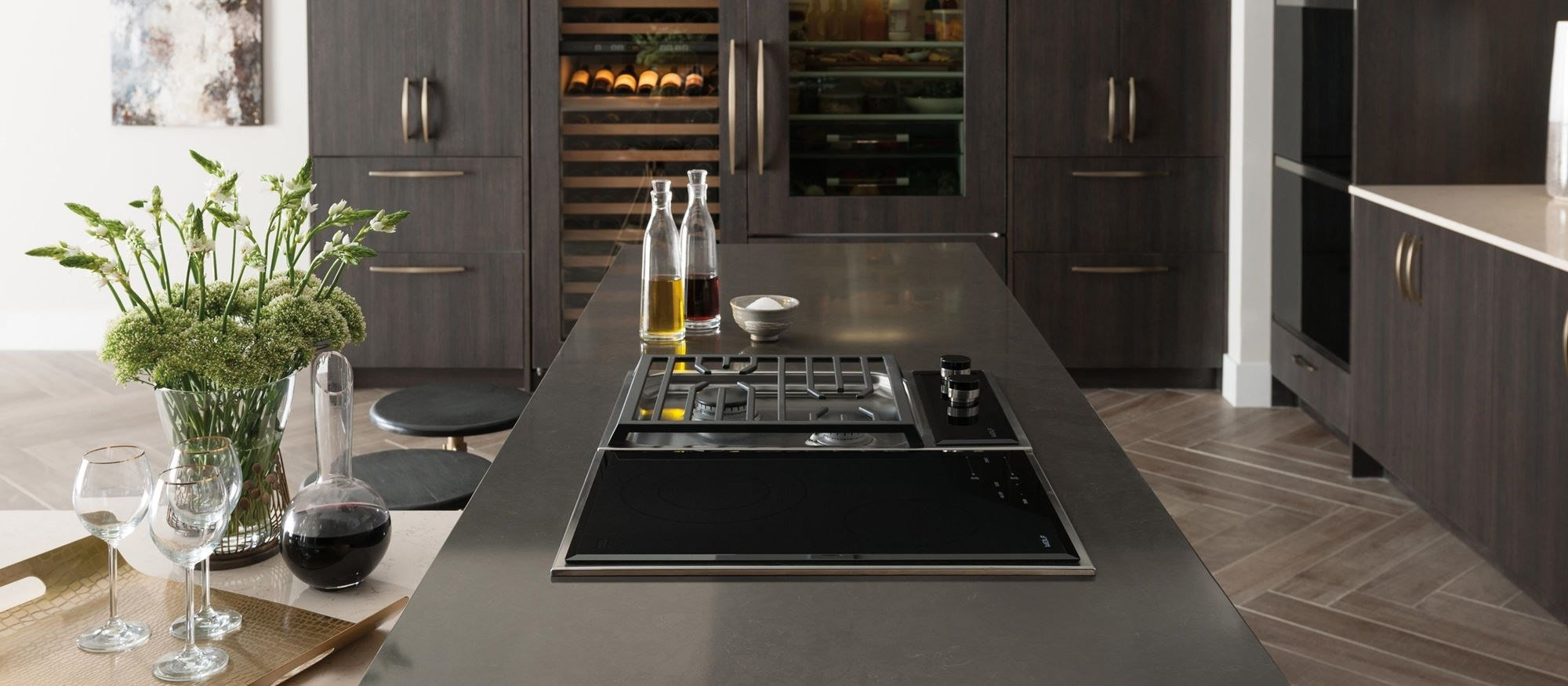 "Wolf 15"" Transitional Framed Electric Cooktop (CE152TF/S)"