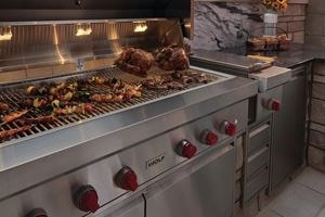 Join us for a live demonstration showcasing Wolf outdoor grills.