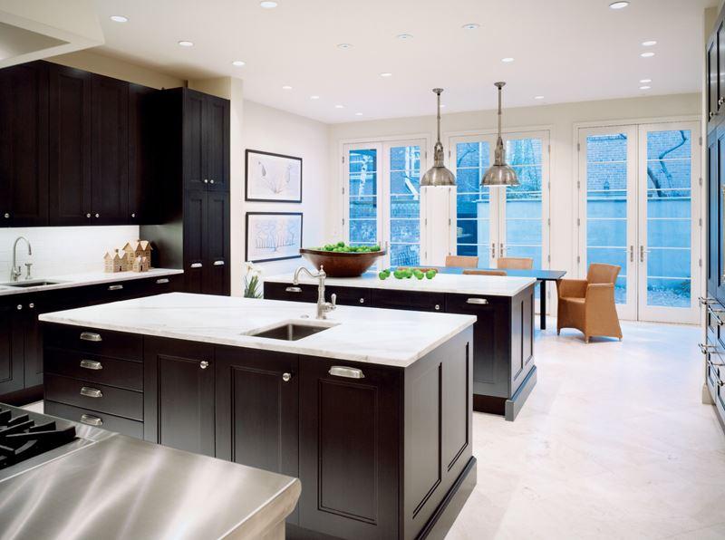 Brownstone Modern Sub Zero Wolf And Cove Kitchens
