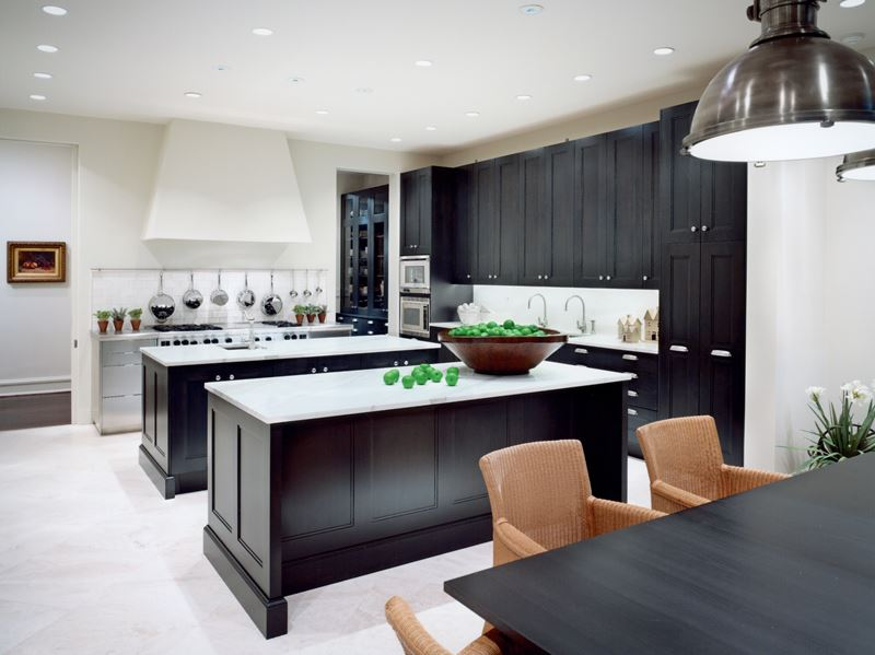 brownstone modern sub zero wolf and cove kitchens. Black Bedroom Furniture Sets. Home Design Ideas