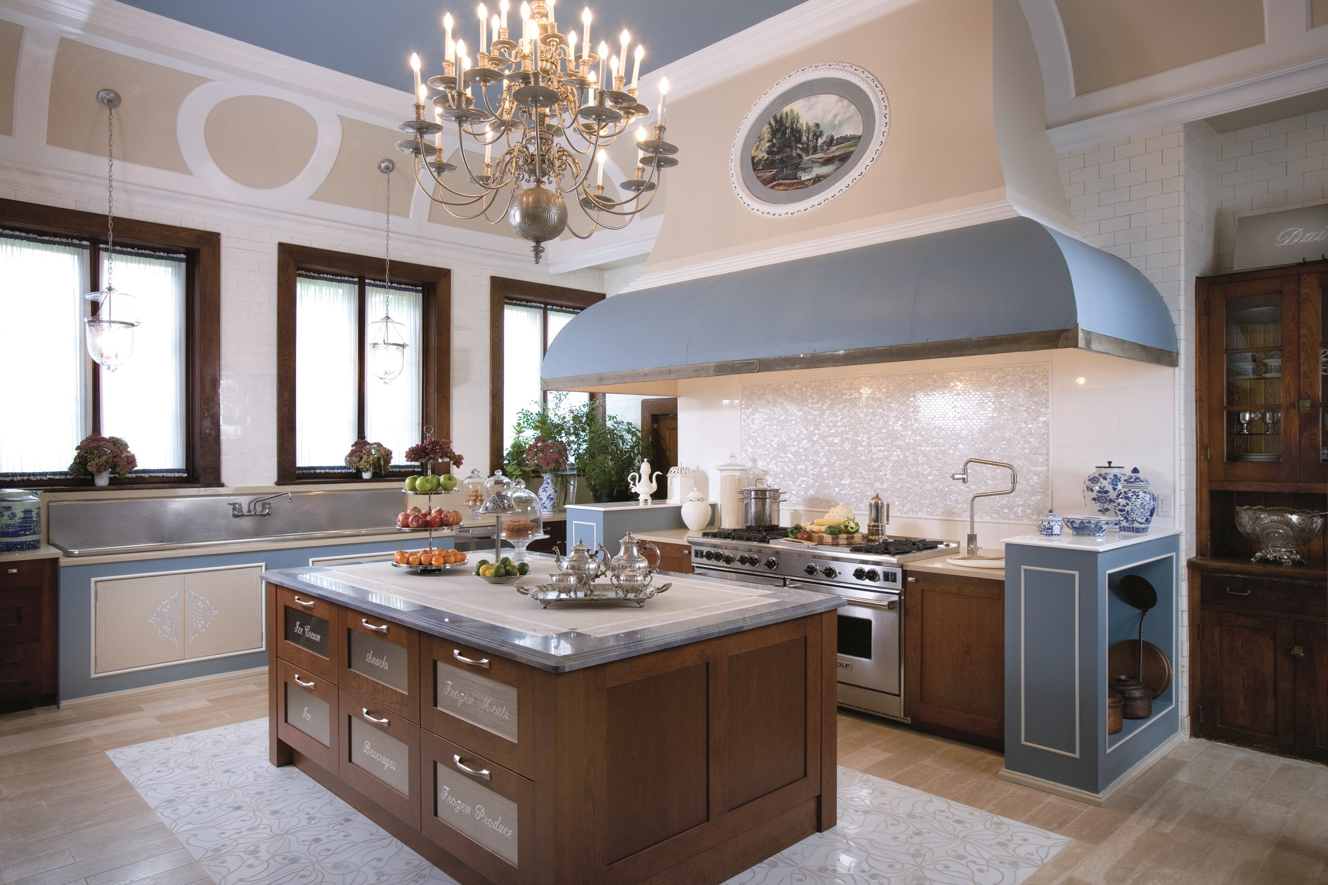 Practical Romanticism Sub Zero Wolf And Cove Kitchens
