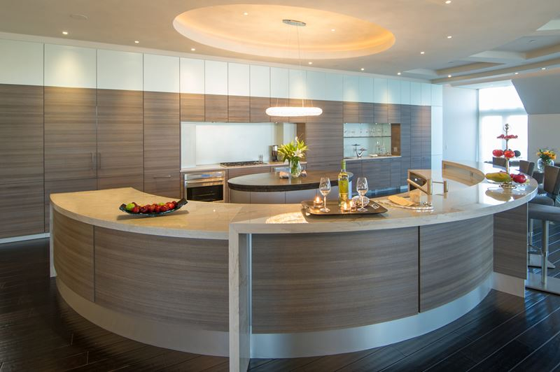 Luxury Penthouse Sub Zero Wolf And Cove Kitchens