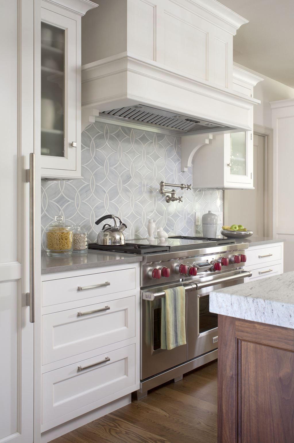 Misty Blue | Sub-Zero, Wolf, and Cove Kitchens