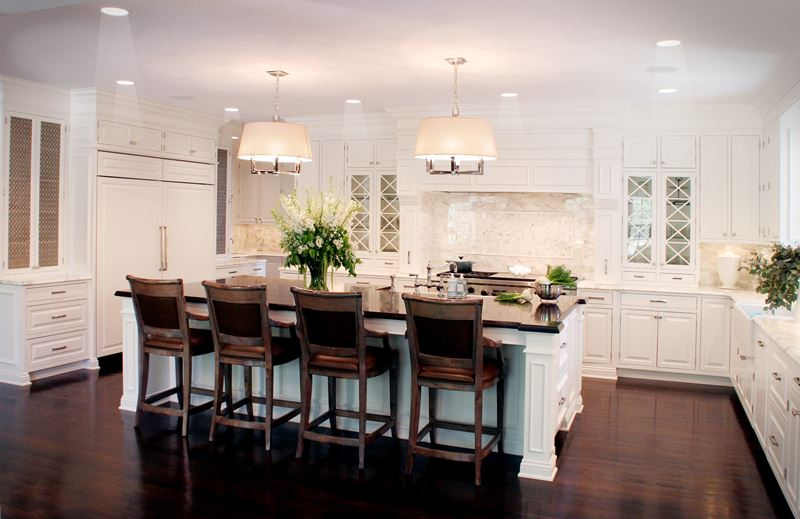 The classic white kitchen deconstructed sub zero wolf and cove kitchens