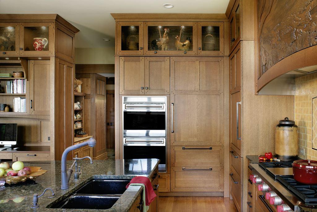 Green Mountain Beauty Kitchen Gallery Subzero Wolf Appliances Arts And Crafts Kitchen Design