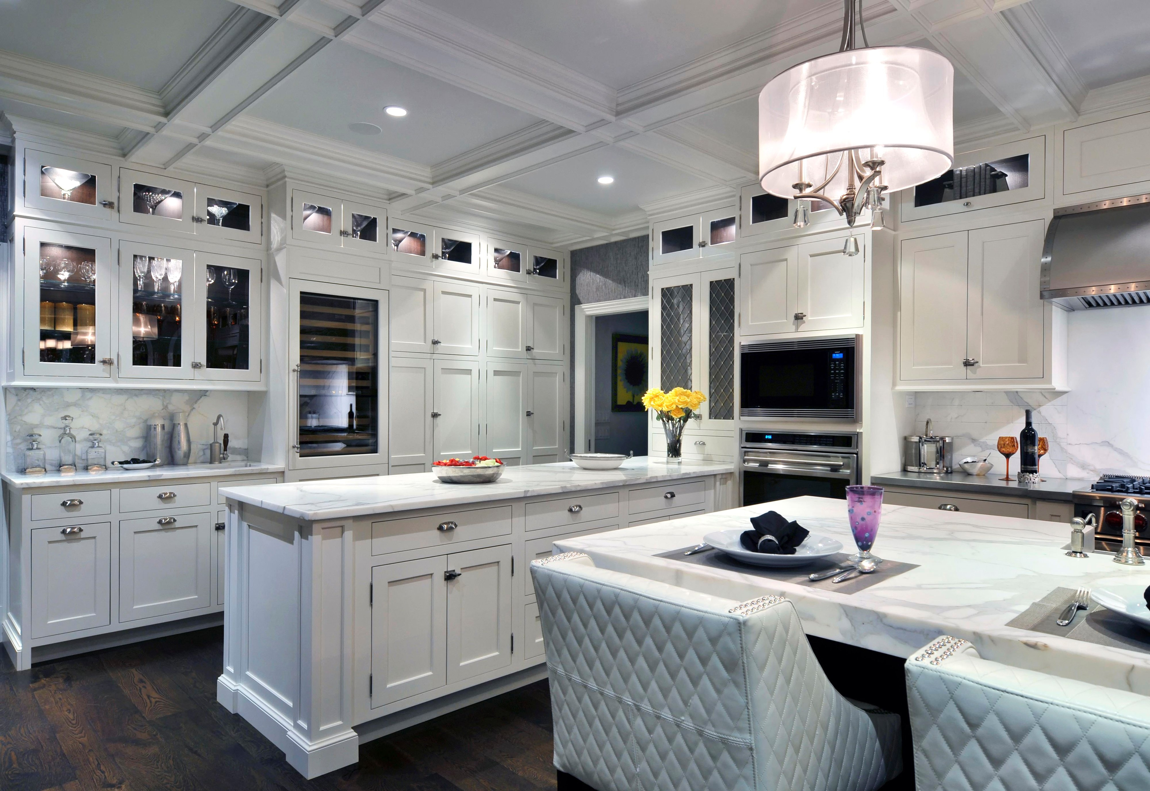 contrasts in harmony sub zero  wolf  and cove kitchens